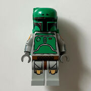 Lego Star Wars Official Boba Fett Minifigure From 2003 Cloud City 10123