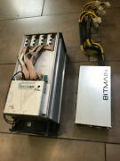 Bitmain Antminer L3+ Litecoin Dogecoin Miner Psu Up To 580mh/s L3++ Us Inventory