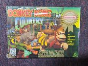 Donkey Kong Country Super Nintendo Snes Brand New And Factory Sealed