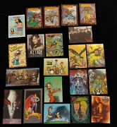 Lot Of 70+ Non-sports 1990's Promo Trading Cards Lady Death Refractor - Sopranos