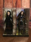 New Twilight Barbie Collector Pink Label Dolls, Set Of 2 Jane And Victoria
