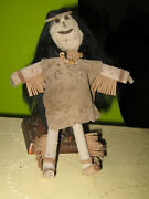 American Primitive Papoose Doll Gold Miner Handmade American Doll Collectables