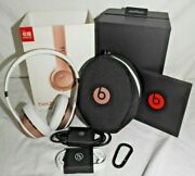 Beats By Dr. Dre Solo3 Wireless On The Ear Headphones - Rose Gold Pink 2018