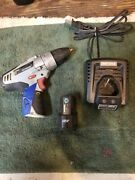 Craftsman Nextec 12v Cordless Li-ion 3/8 Drill Tool And Battery And Charger