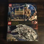2 New Lego Sets Harry Potter Hogwarts Chamber 76389 And Star Wars Falcon 75257