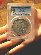 Rare Condition Russian Antique Silver Coin Rouble 1842 Pcgs Ms62 Imperial Russia