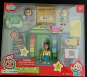 Cocomelon School Time Deluxe Playset Ms. Appleberry Jj Bella Hot Toy 2021 New