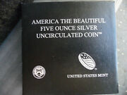 2010 P 5-ounce Silver Grand Canyon National Park Uncirculated Coin
