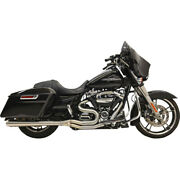 Harley Bassani - Exhaust System Road Rage Iii Long 21 Touring 17-20 4 Raw