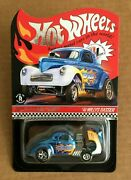 2020 Hot Wheels Rlc Selections And03941 Willys Gasser Wild Blue Free Ship Usa