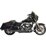 Harley Bassani - Exhaust System Road Rage Ii 2-in1 Black 07-16 Touring