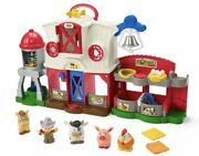 New Fisher-price Little People Caring For Animals Farm Toy Set