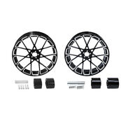 18 Front And Rear Wheel Rim W/ Dual Disc Hub Fit For Harley Road King Glide 08-21