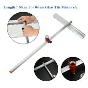 Push Roller T-type Scraper Blade For Glass Tile Mirror Tile Saw Hand Floor Wall