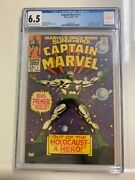 Captain Marvel 1 Cgc 6.5 Fn+ 1968 What A Deal Gene Colan Art Silver Age Marvel