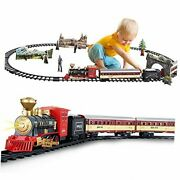 Train Set - Electric Train Toy For Kids 3 4 5 6 Years, Battery-powered Train