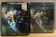 Avatar Blu-ray/dvd, 2012, 2-disc Set, Limited Edition 2d/3d Brand New Sealed