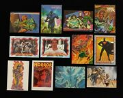 Lot Of 50+ Non-sports 1990's Promo Trading Cards Lady Death Refractor - Simpsons