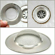 100pcs Kitchen Sink Strainer Plug Basin Drain Cover Hair Food Waste Stopper