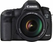 Used Canon Eos 5d Mark Iii - Black With Ef L Is Usm 24-105 Freeshipping