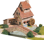 Model Vehicles Kit Of Mount Game Mill With Bridge 2000 Pieces Aedes