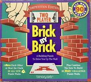 Brick By Brick Building Puzzle 1 Or 2 Players 90 Puzzles Strategy Binary Arts