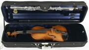 Giovanni Paolo Maggini Violin Outfit W/ Case And Bow Made In Germany