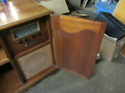 Vintage Capehart Tube Radio In Console Cabinet