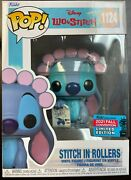 Funko Pop Lilo And Stitch 1124 Fall Convention Exclusive In Rollers In Hand