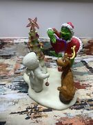 Dept 56 Who Stole Christmas Snowbabies Guest Collection 2001 Damage
