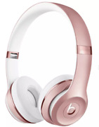 New Solo 3 Beats By Dre On-ear Wireless Headphones Pink - New And Sealed