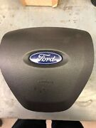 2013-2019 Ford Taurus Left Driver A/b Horn Pad Steering Wheel Cover Black Oem