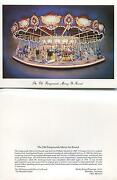 Vintage Carousel Horses Old Fairgrounds Merry-go-round Ornamental Note Art Card