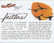 Geese Goose Tangier Island Oyster Crab Meat Fritters Recipe Card Print And 1 Bread