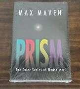 Max Maven Prism The Color Series Of Mentalism First Edition New In Shrink Wrap