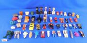 Big Lot Of 54 Vintage 1980's Gobots And Rock Lords Toys Tonka