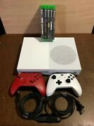 Xbox One S With 2 Controllers, 5 Games, 1 Hdmi Cable, 1 Ac Power Cord, 2019