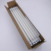 10 Pack Philips 7w 2' 4000k T8 Led Bulb, Use With Instant Start Ballast