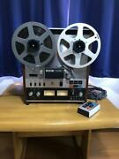 Teac A-6100 2 Track Open Reel To Reel Player Recorder Used Japan 100v Vintage