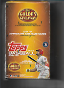 2012 Topps Baseball Jumbo Sealed Box 18 Packs 36 Cards Pack Look Trout 2nd Year