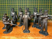 Vintage 1950s Marx 60mm Mexican War Soldiers - Lot Of 9