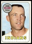1969 Topps Stan Williams Cleveland Indians 118