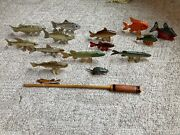 Vintage Fishing Decoys—signed By Richard H Stammer