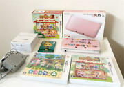 Nintendo 3ds Ll Animal Forest Software Pieces Limited Case Available