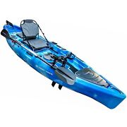 Fishing Pedal Kayak For Anglers 11andrsquo   Sit On Top Or Stand   500lbs Capacity