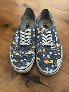 Limited Edition Authentic X Disney Donald Duck Navy Shoes Uk 9