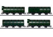 Marklin 42042 Ho French State Railways Prussian Compartment Cars Set Of 4