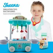 Doctor Kit Surgical Car With Music Children Play House Educational Role Play