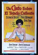 Cat On A Hot Tin Roof Cinemasterpieces Movie Poster Elizabeth Liz Taylor 1958