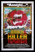 Attack Of The Killer Tomatoes Cinemasterpieces Original Movie Poster Cult 1978
